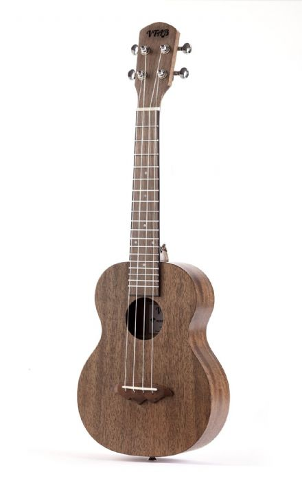 VTAB EL-55 Concert Ukulele Pack - Dark Brown